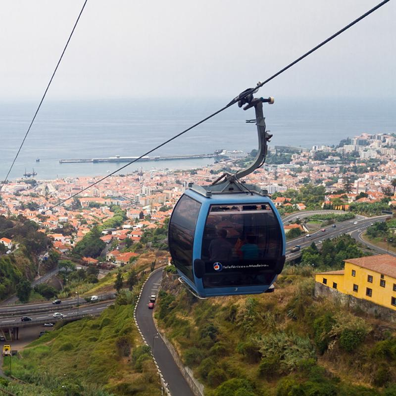 Monte Cable Car Funchal madeira Portugal
