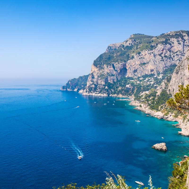 Marina Piccola Capri Naples Italy