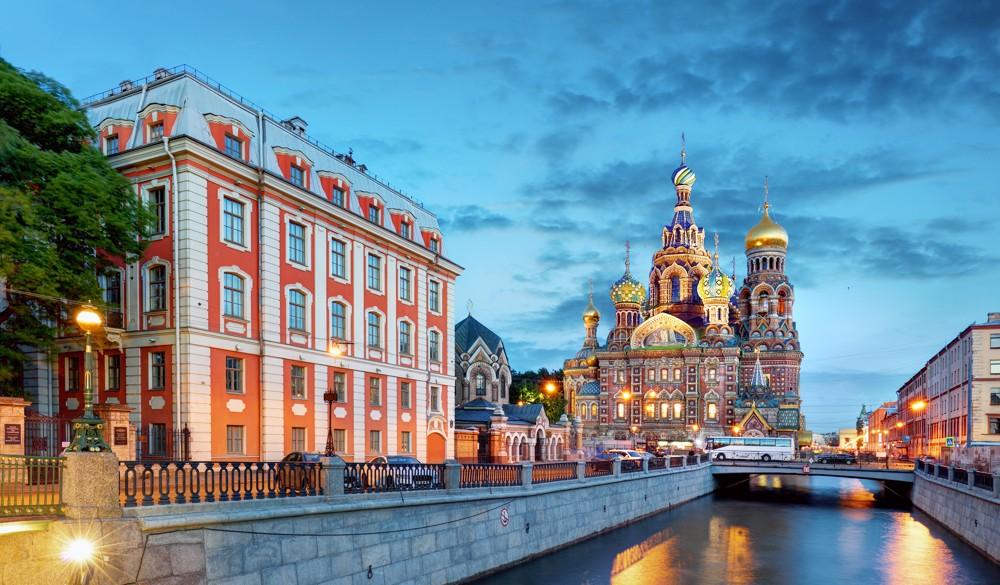 St. Petersburg - Overnight onboard