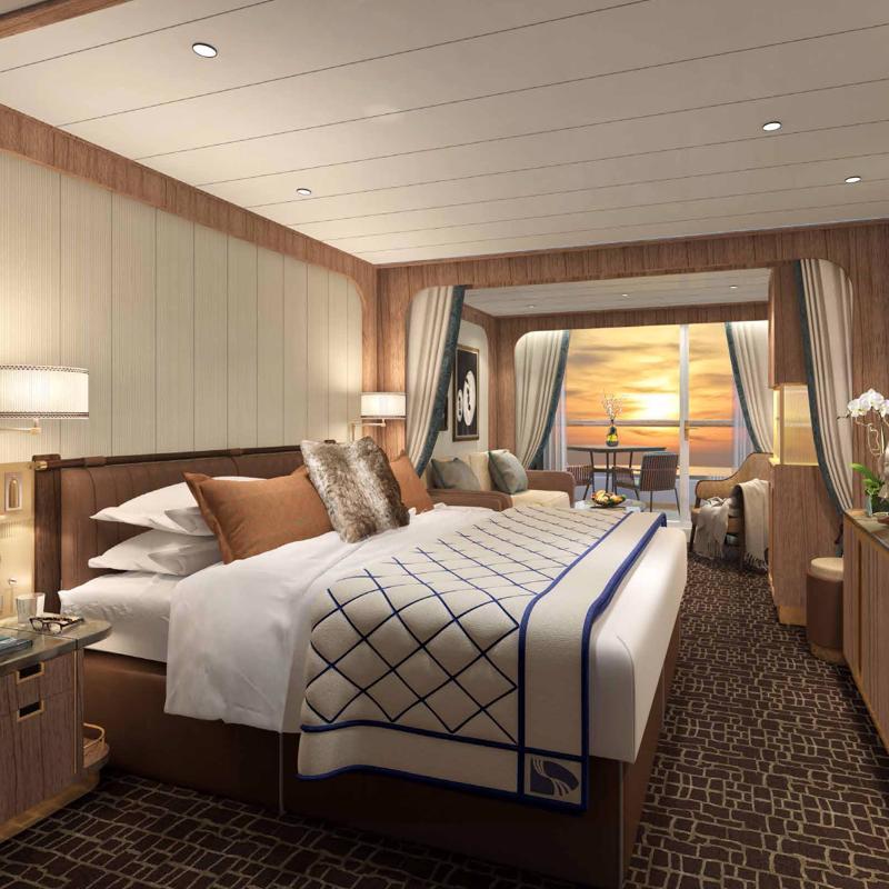 Veranda Suite Seabourn Venture