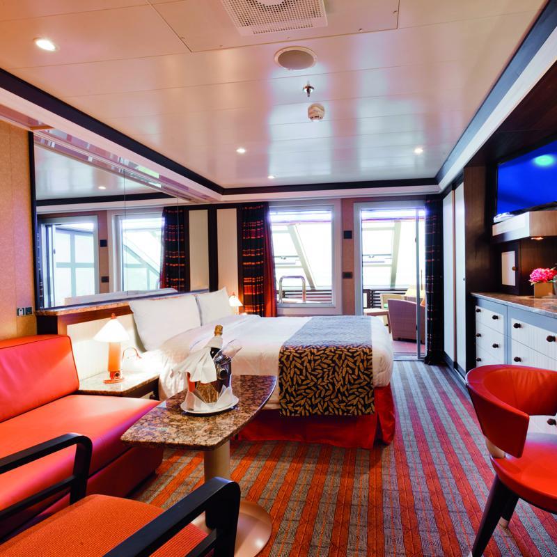 Samsara Grand Suite with Ocean View balcony - Costa Fascinosa