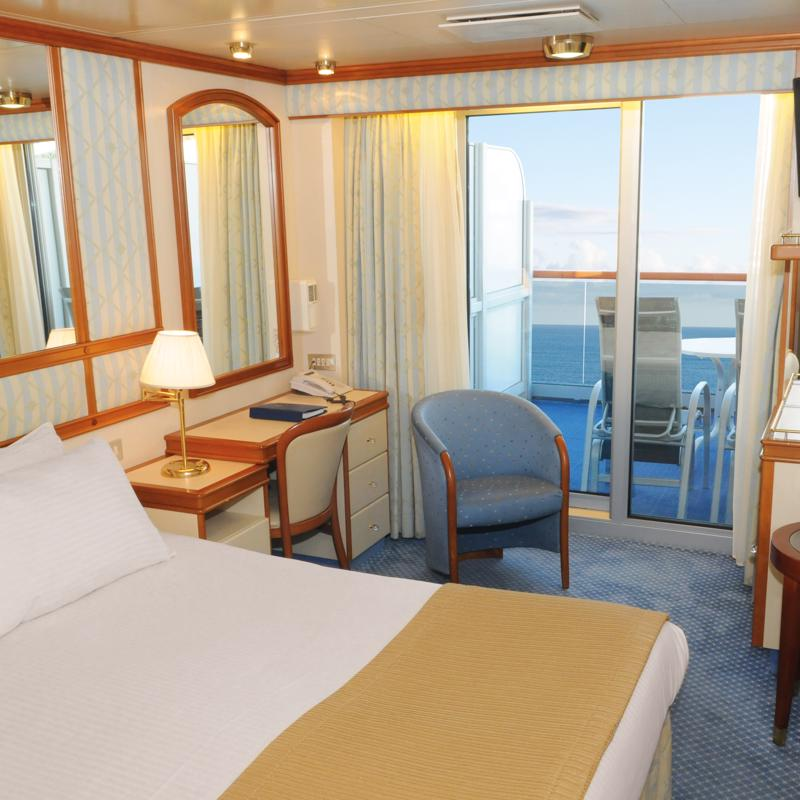 Balcony cabin - Diamond Princess