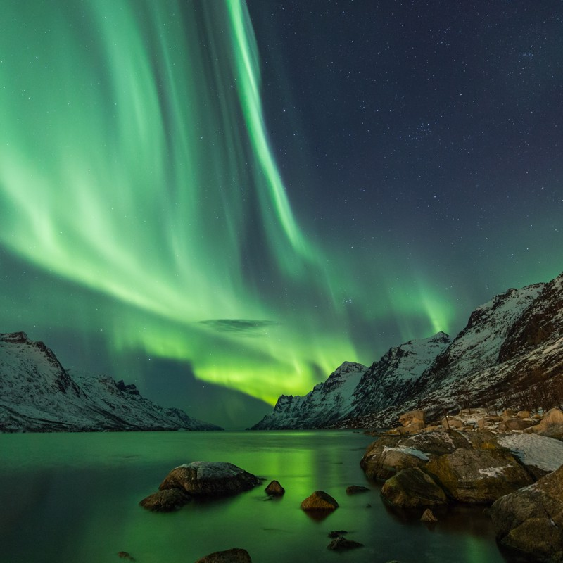 Northern Lights in the Arctic Circle