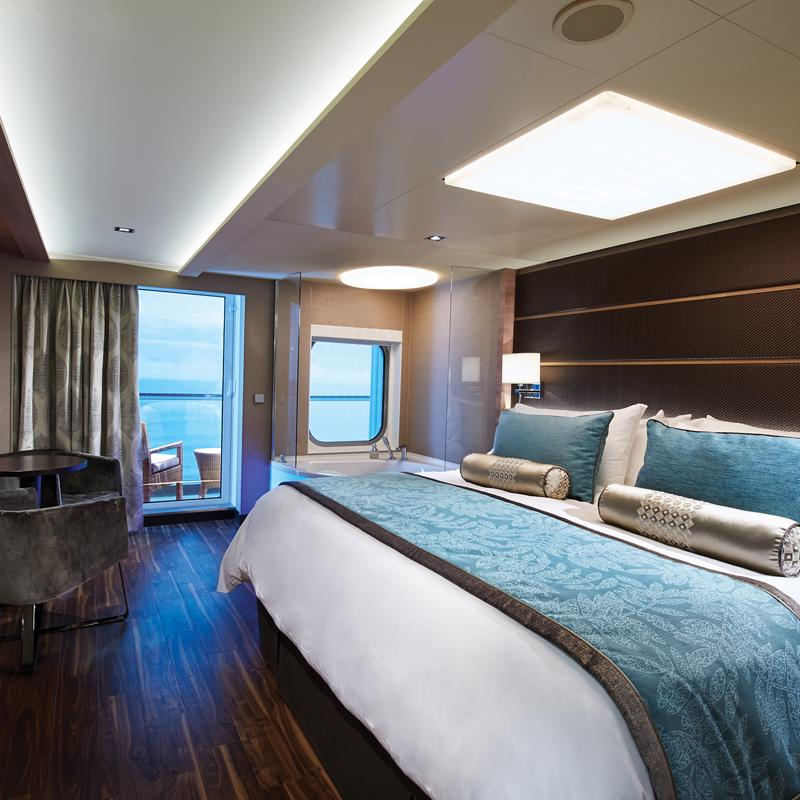 The Haven Spa Suite with Balcony - Norwegian Escape