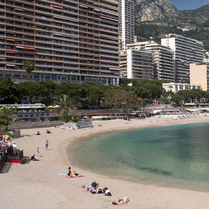 Larvotto Beach Monte Carlo Monaco