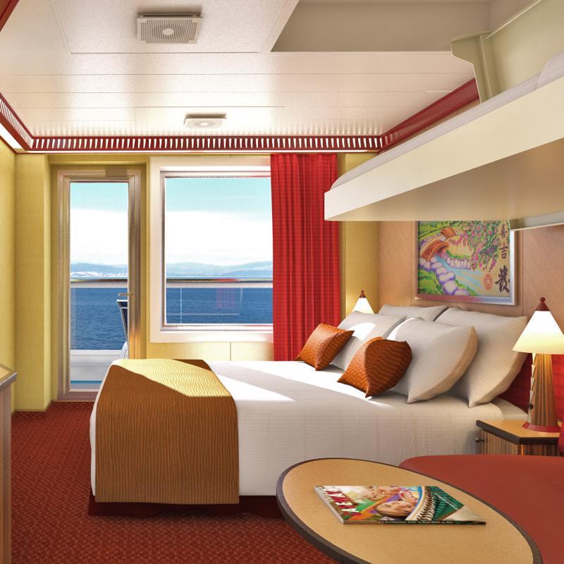 Cloud 9 Spa Balcony - Carnival Breeze