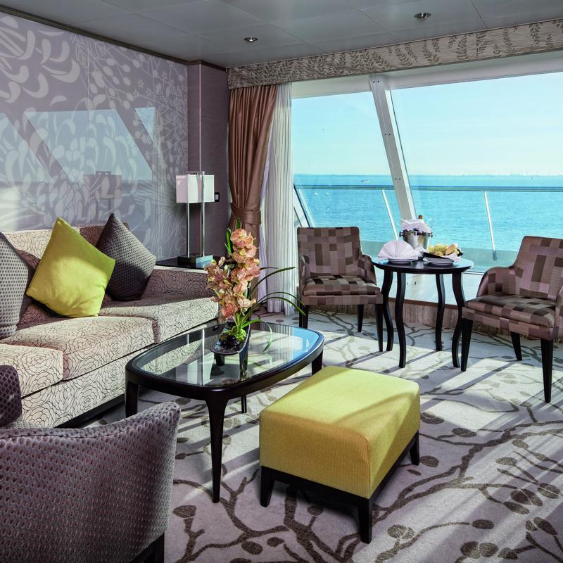 Grand Suite with ocean view balcony - Costa neoRomantica