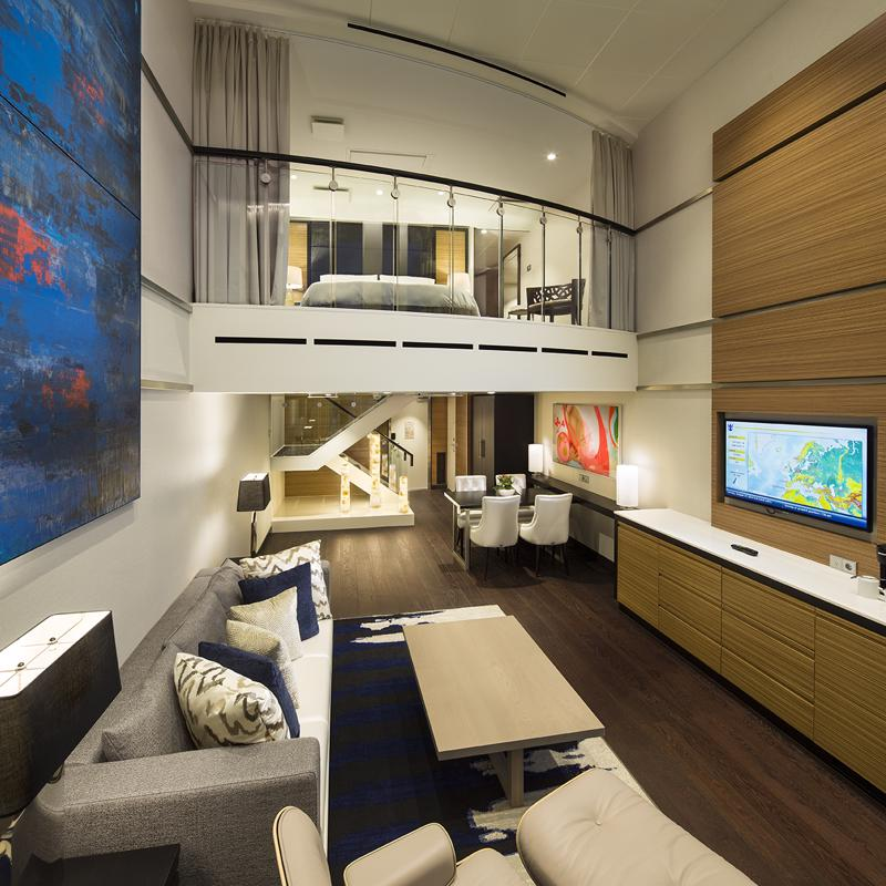 Sky Loft Suite with balcony - Anthem of the Seas