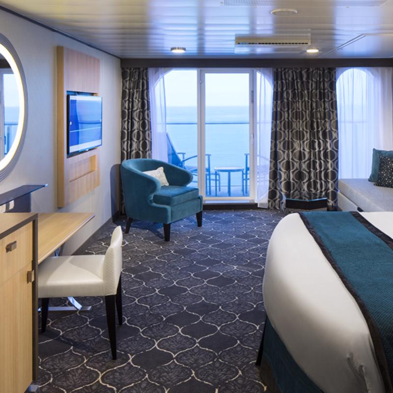 Ultra Spacious Ocean View with Large Balcony - Harmony of the Seas