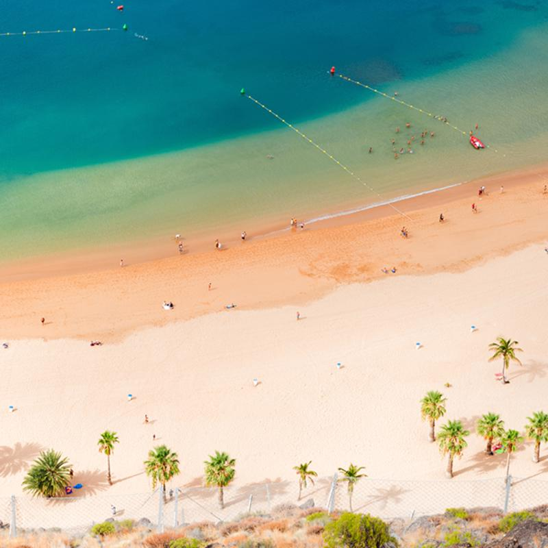 Playa de las Teresitas Santa Cruz tenerife Spain