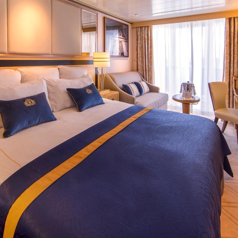 Club Balcony - Cunard Queen Mary 2