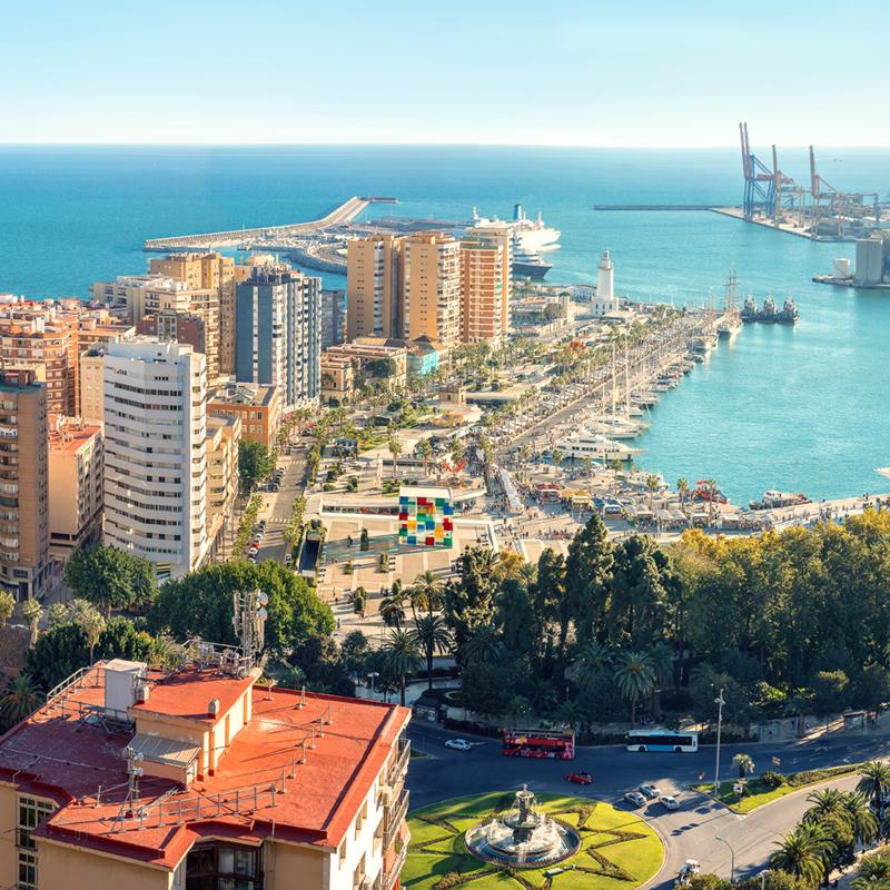 Malaga - Overnight onboard