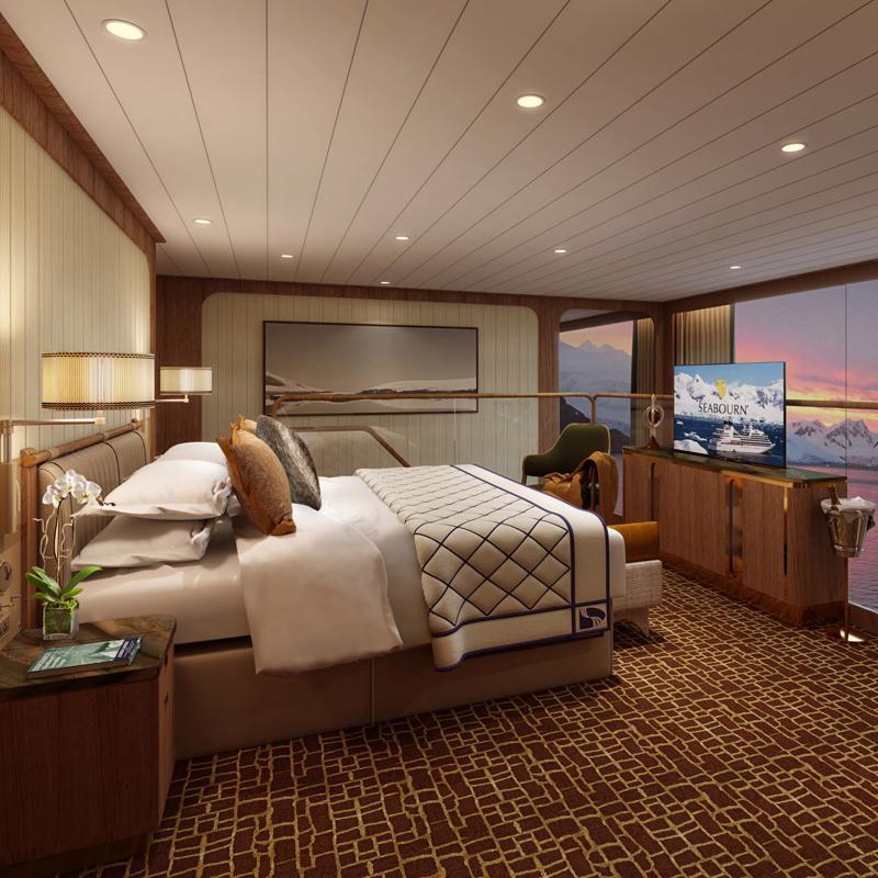 Grand Wintergarden Suite Seabourn Venture