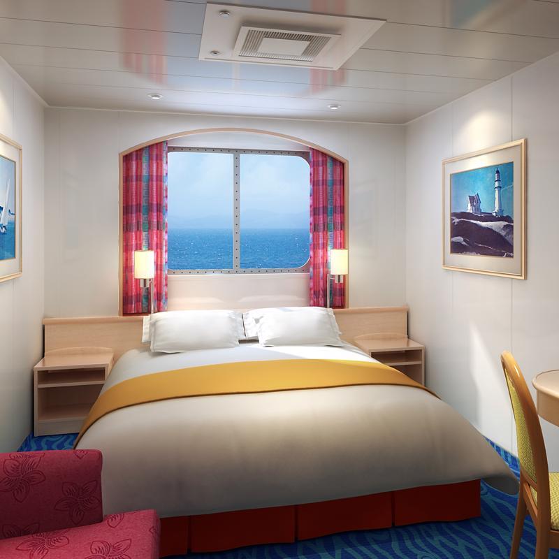 Family Oceanview Picture Window - Norwegian Sky