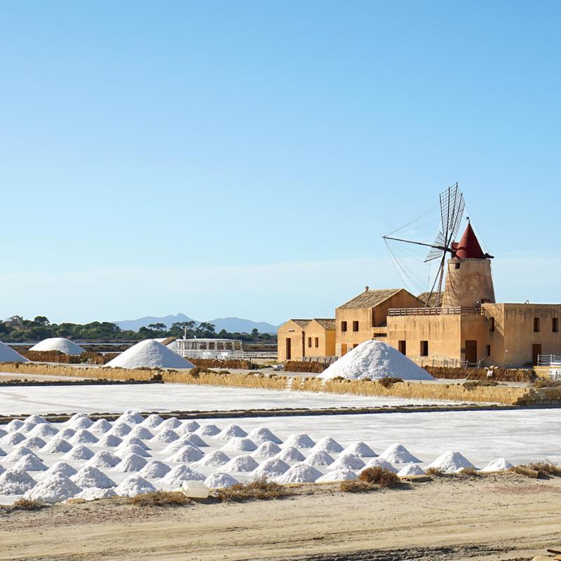 Salt Museum Trapani Sicily Italy