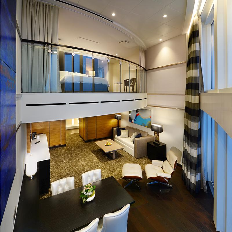 Owner's Loft Suite with Balcony - Anthem of the Seas