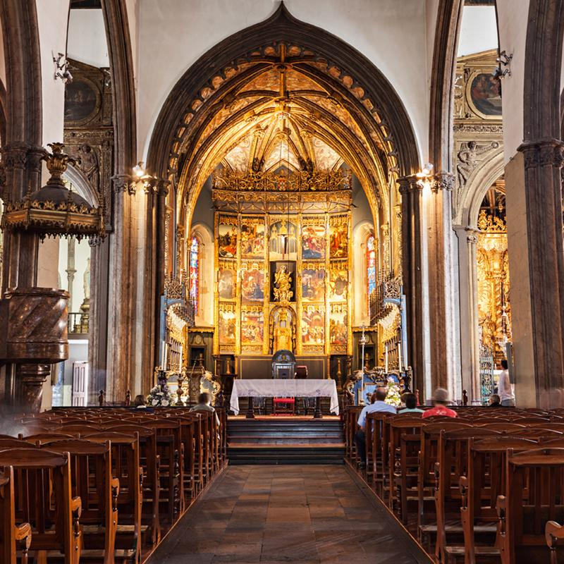 Funchal Cathedral Madeira Portugal