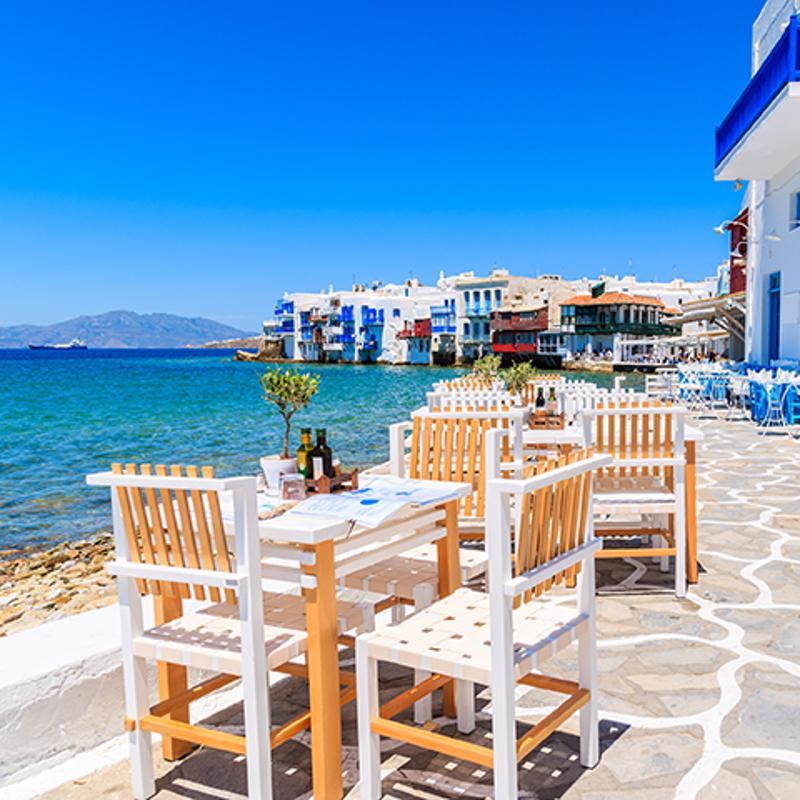 Little Venice Mykonos Town Greece