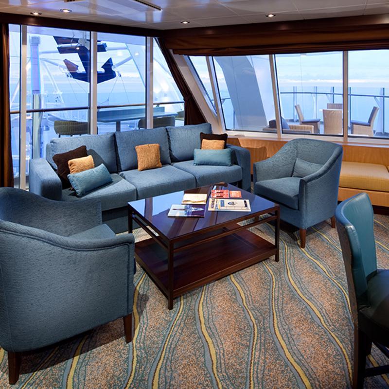 AquaTheater Suite Large Balcony - 2 Bedrooms - Harmony of the Seas