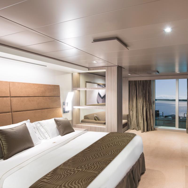 Yacht Club Deluxe Suite - MSC Seaside
