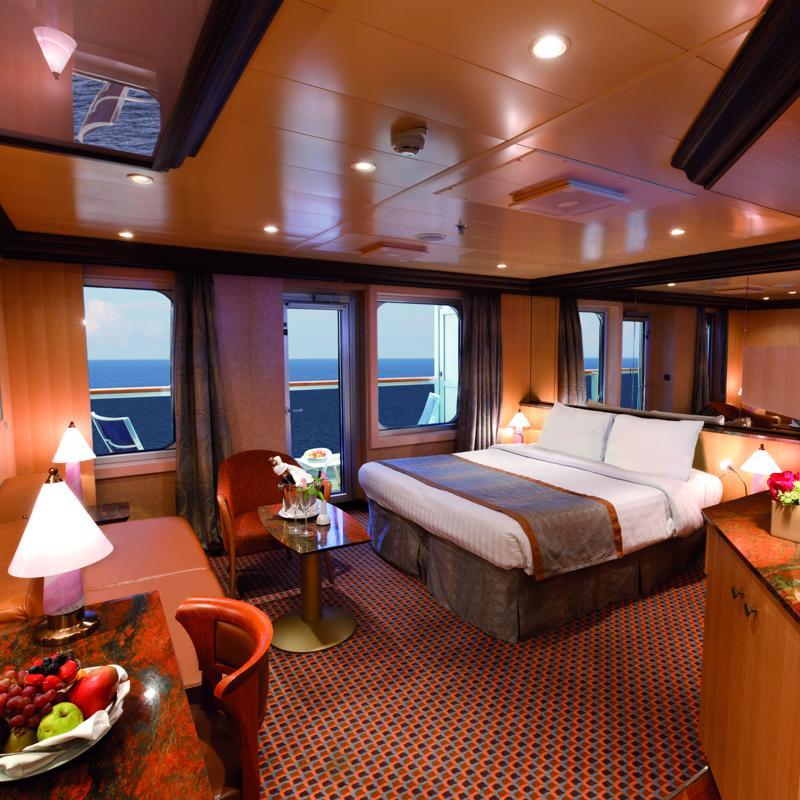 Samsara Suite with ocean view balcony - Costa Fascinosa