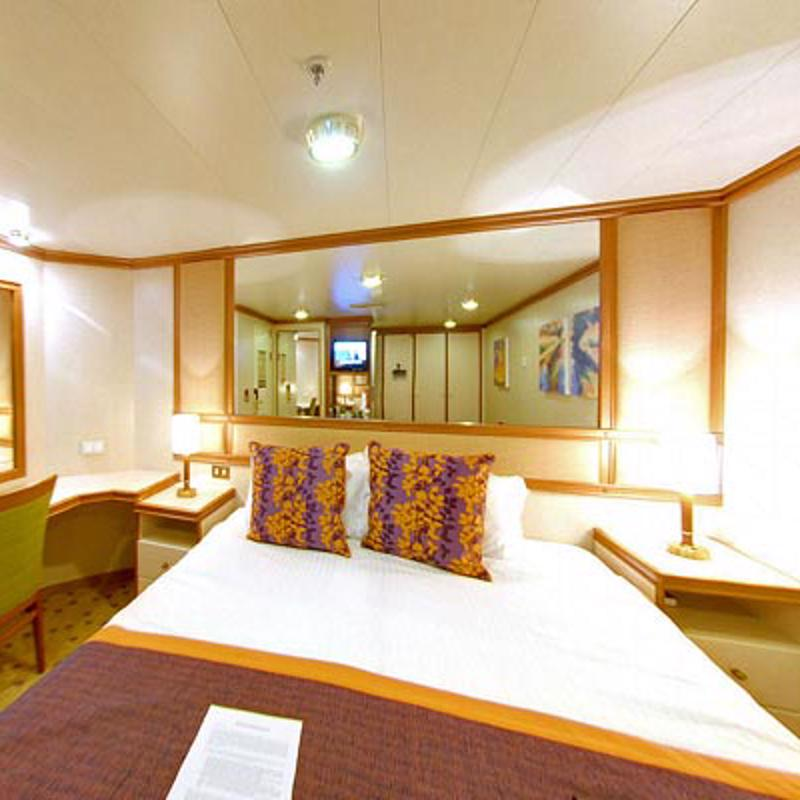 Larger Inside cabin - P&O Arcadia