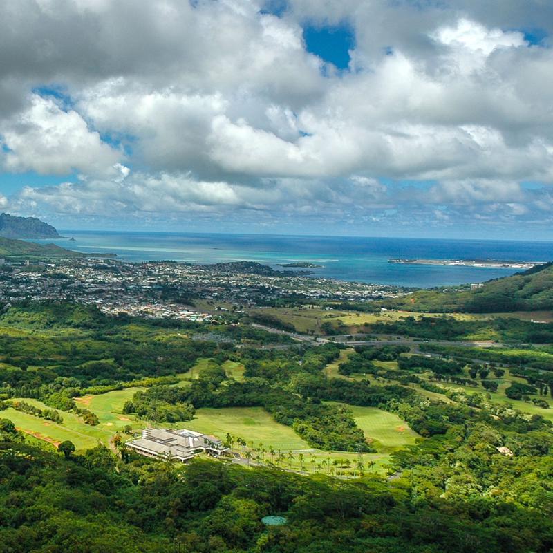 Nu'uanu Pali Mountain Honolulu Hawaii