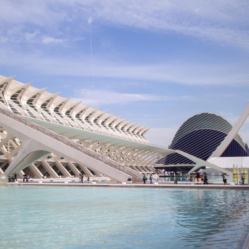 City of Arts & Sciences Valencia Spain