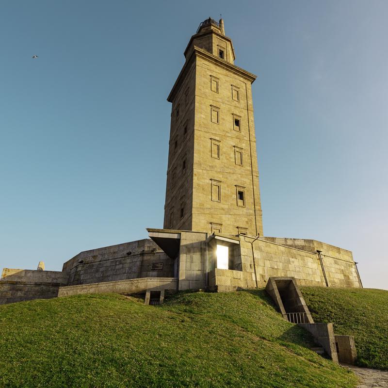 Tower of Hercules La Coruna Spain