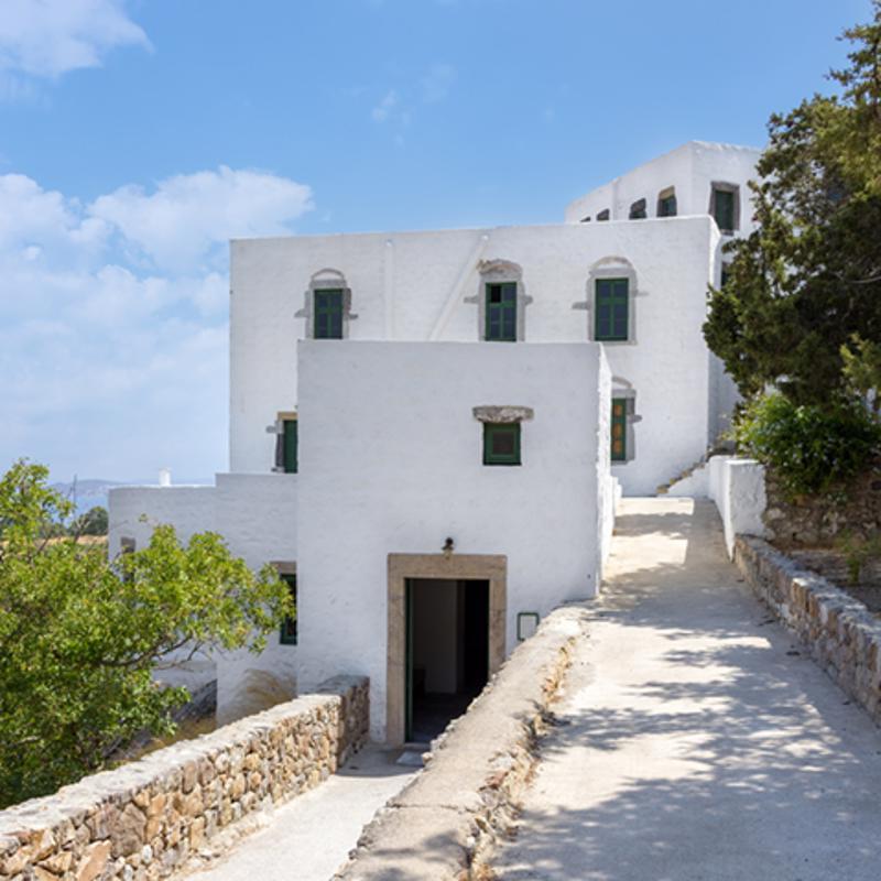 Cave of the Apocalypse Patmos Greece