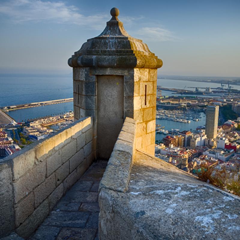 Santa Barbara Castle Alicante Spain