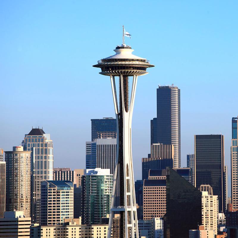 Space Needle Seattle USA