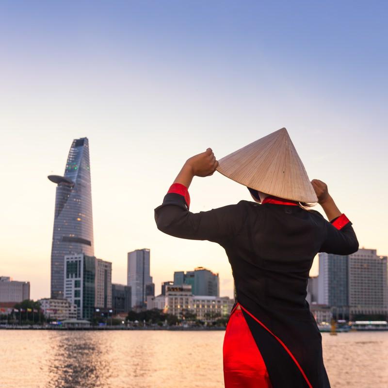 Ho Chi Minh City - Overnight onboard