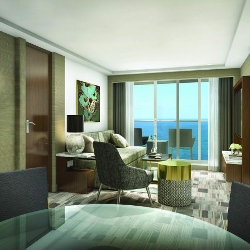 AFT-FACING OWNER'S SUITE WITH MASTER BEDROOM & BALCONY