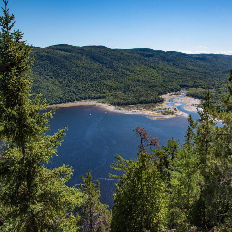 Saguenay Fjord Quebec City Canada