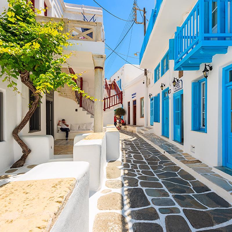 Mykonos Town Greece
