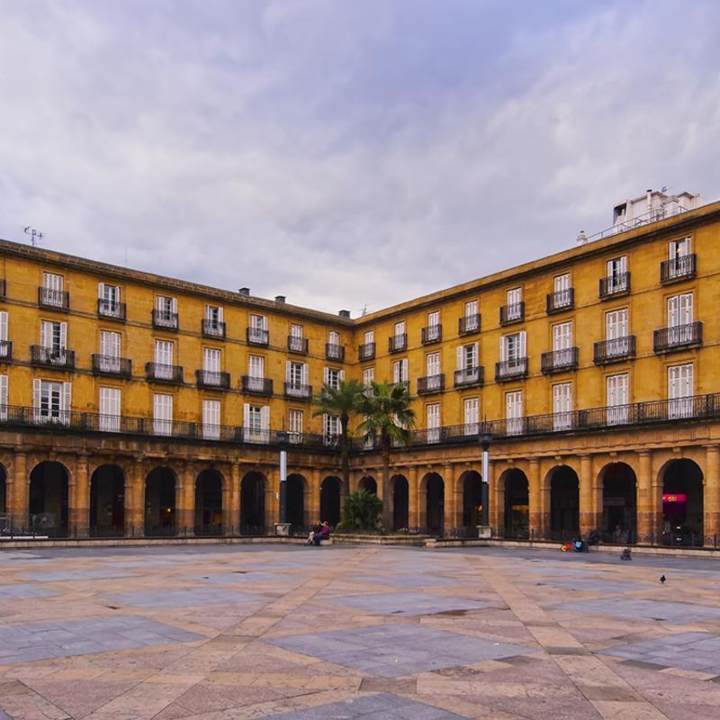 Plaza Berria Bilbao Spain