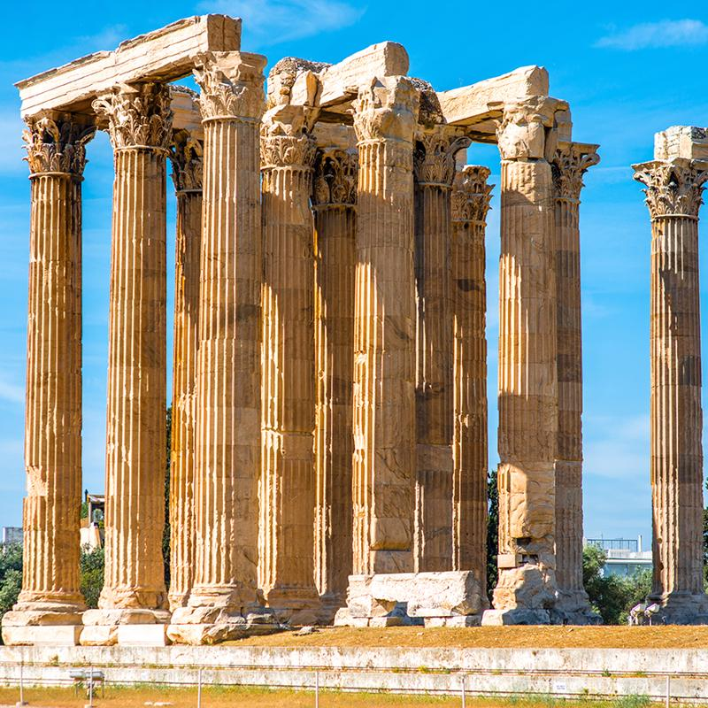 Temple of Zeus Olympia Katakolon Greece