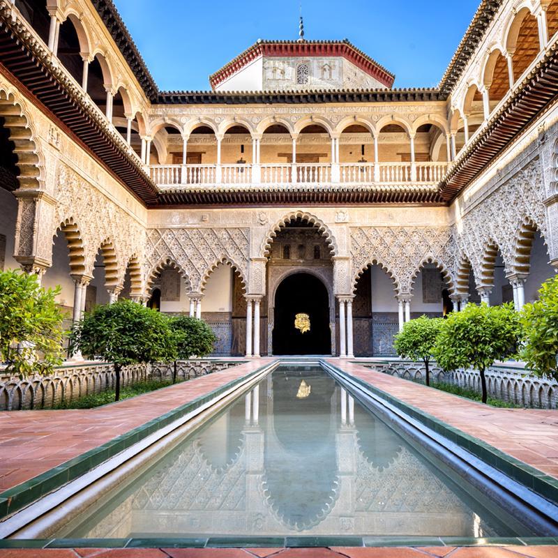 Real Alcazar Ville Spain