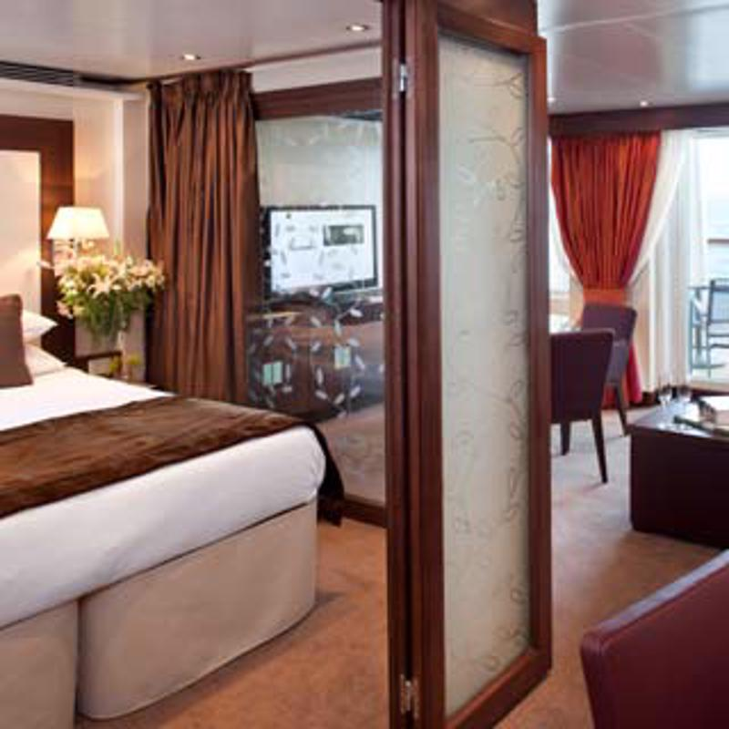 Penthouse Spa Suite - Seabourn Odyssey