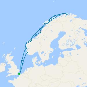 Fiordos y Noruega desde Dover