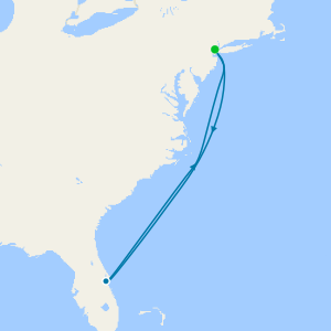 Bahamas desde Nueva York (Cape Liberty)