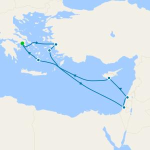 Mediterráneo desde Pireo (Atenas)