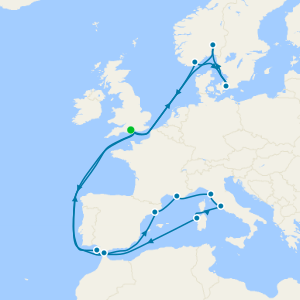 Mediterráneo desde Southampton