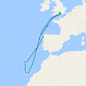 Canarias desde Southampton