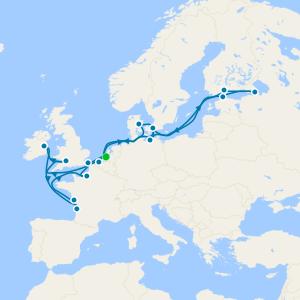 Norte de Europa desde Rotterdam