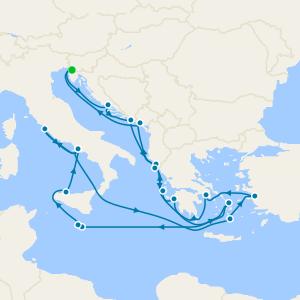 Mediterráneo desde Venecia