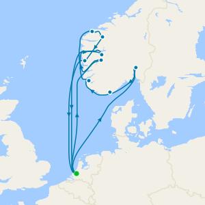 Fiordos y Noruega desde Amsterdam