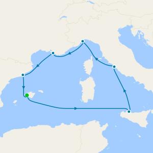 Mediterráneo desde Palma de Mallorca