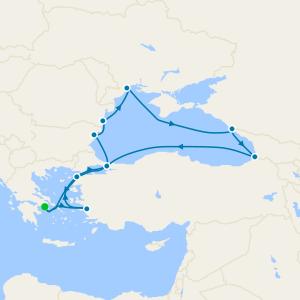 Mer Noire au départ de Le Pirée, Athènes